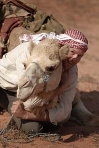Ryan and Azaran in Wadi Rum, Jordan. Photo © Jason George