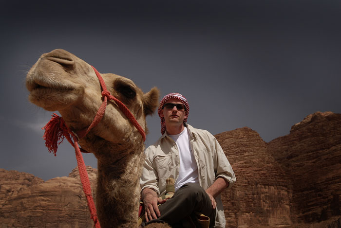 Camel riders define cool Photo © Jason George