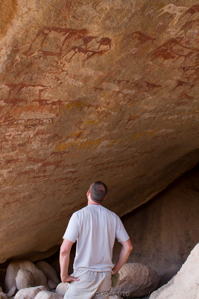 Less than a dozen people have set eyes on this incredible prehistoric rock art site...