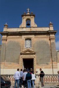 This chapel was once private, attached to the side of an aristocratic family's palazzo...