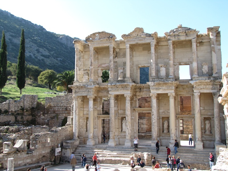 Ephesus is Greece transformed into Rome...