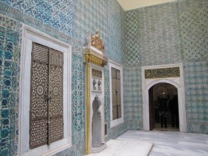 The Topkapi palace harem — places of decadence concealed behind walls...