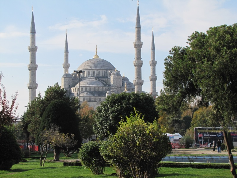 No Istanbul monument towers with more grace and silent gravity than The Sulimaniye Mosque...