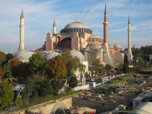 The theme of Haghia Sophia is weightlessness...