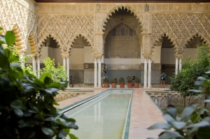 The Courtyard of the Maidens — not a bad plunge pool... Now where are those scantily clad maidens, anyway...?