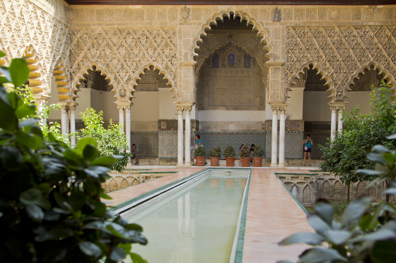 The Courtyard of the Maidens —not a bad plunge pool... Now where are those scantily clad maidens, anyway...?