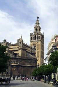 The main cathedral of Seville is said to be the largest Gothic building in the world...