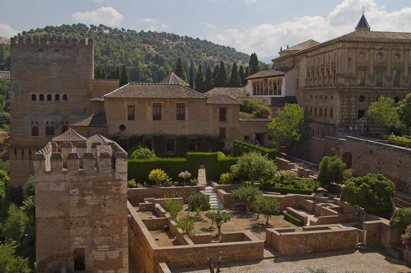 The Alhambra is a peaceful place, protected by birdsong...