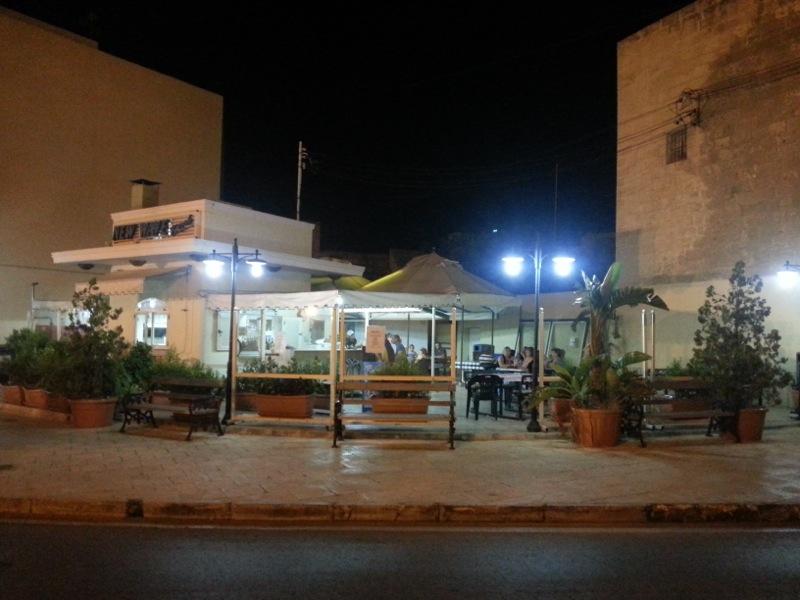 My favourite pizza spot in Malta, right around the corner from the Zejtun palazzo...