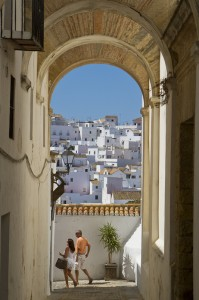 "Exploring the hilltop ""white town"" of Vejer de la Frontera..."
