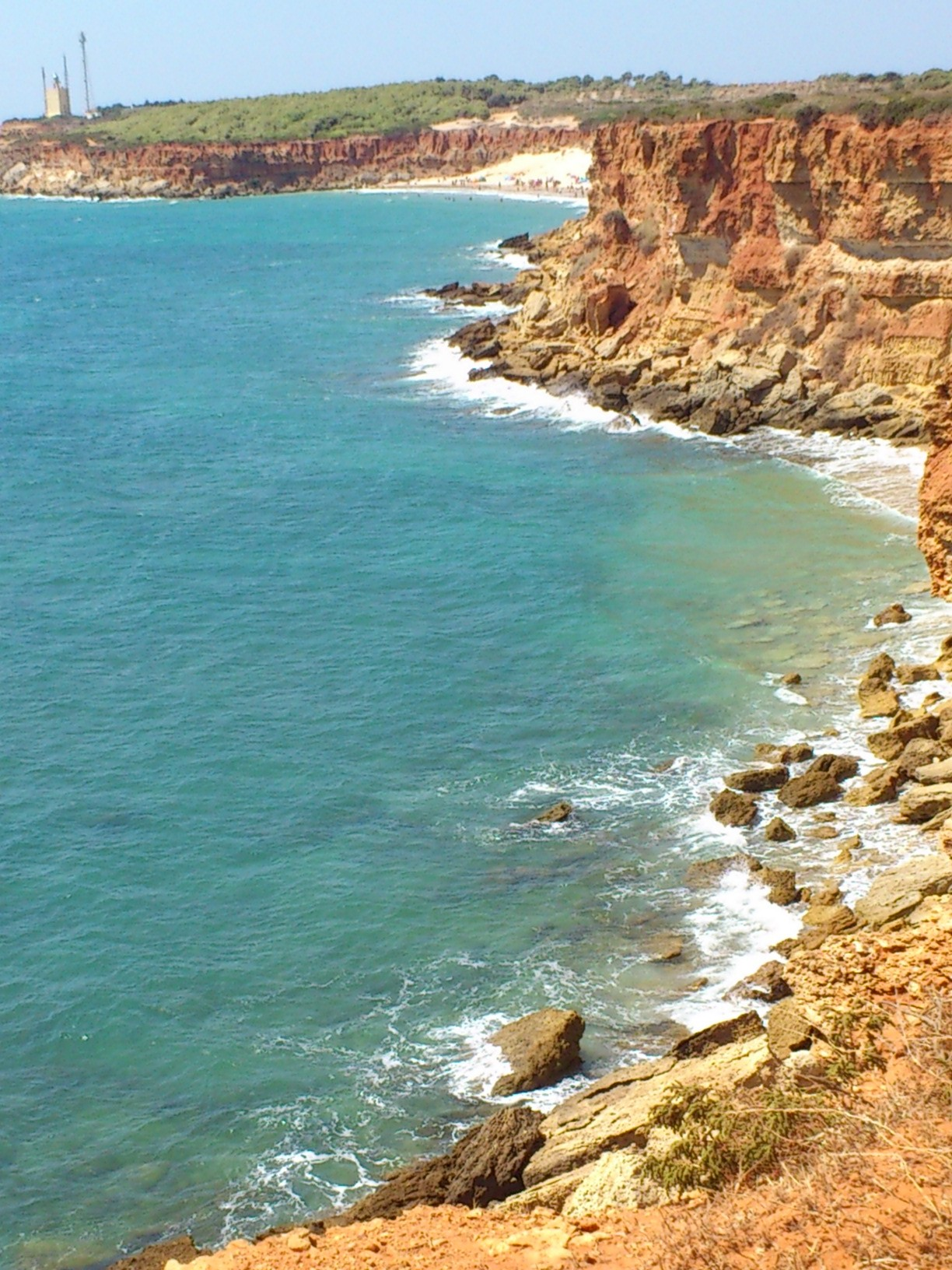 Cala Camacho — the perfect deserted cove, just around the corner from a crowded public beach...