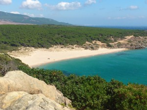 Another deserted beach awaits… Playa Arroyo del Canuelo near the village of Zahara de los Atunes...