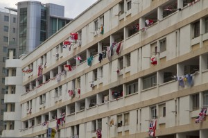 Residents of The Rock showing their clear desire to remain British...