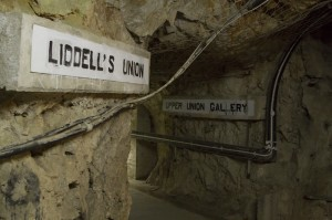 The Rock is threaded with 55km of tunnels…
