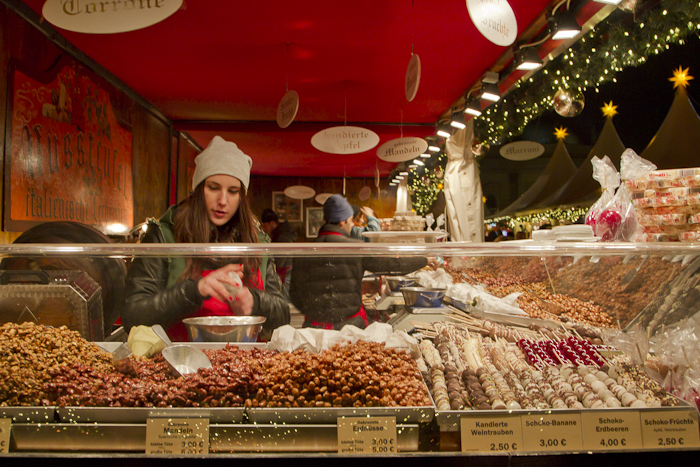 Candied nuts to get your crunch fix...