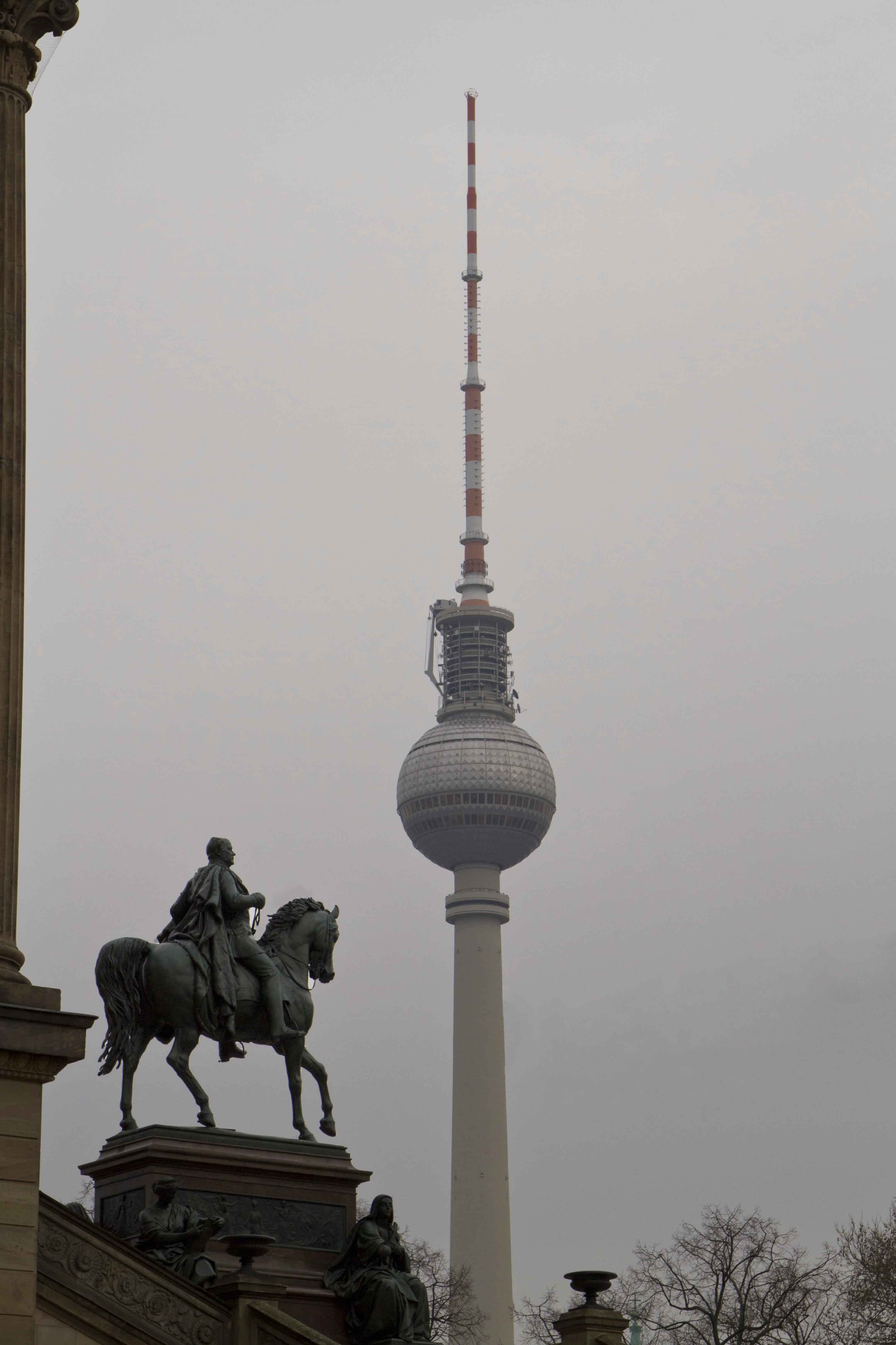 Ahh yes, the TV tower and Friedrich Wilhelm IV on horseback. I wonder what his favourite show was...?