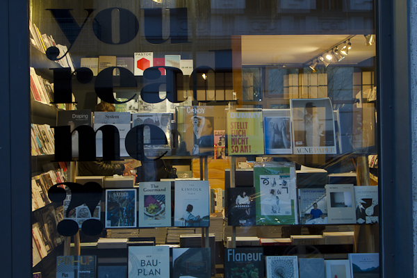 This book shop near Rosa Luxembourg Platz is entirely devoted to photography, visual arts, aesthetic theory and design / architecture….