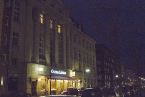 Hansa Studio (above the restaurant), where Bowie recorded Low and Heroes...