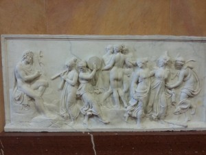 """The Dance of the Muses on Mount Helicon"""