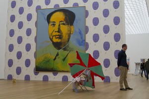 Getting wow-ed by Andy Warhol's Mao...