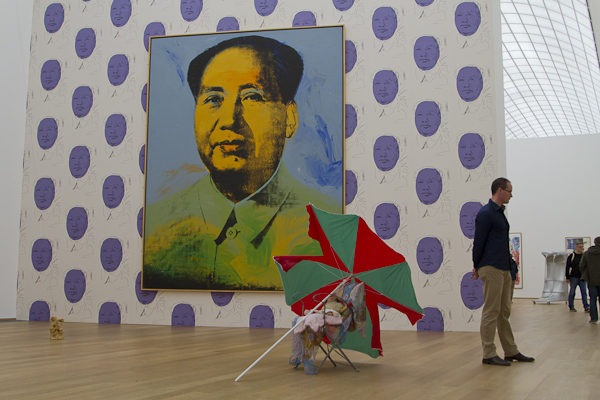 Getting wow-ed by Andy Warhol's Mao...