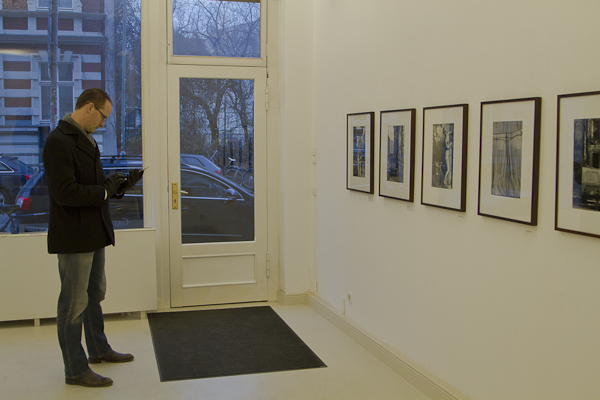 ... a small single-room gallery showing the work of Barbara Klemm...