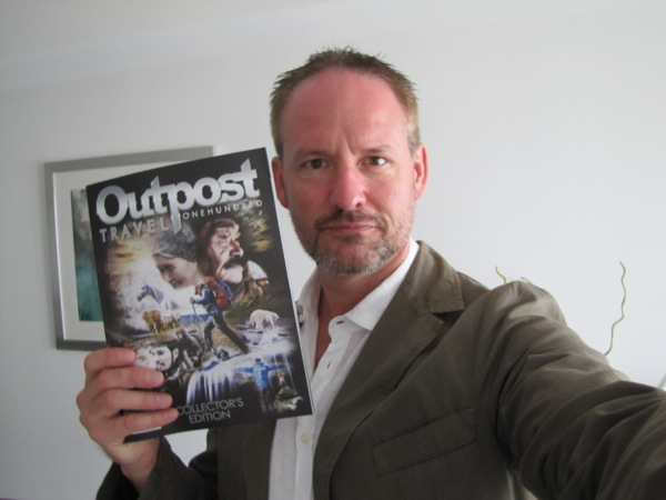 Get your copy of Outpost #100, with 3 new stories by me...