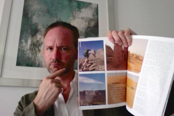 ...including my latest Sahara expedition — who is that handsome devil?