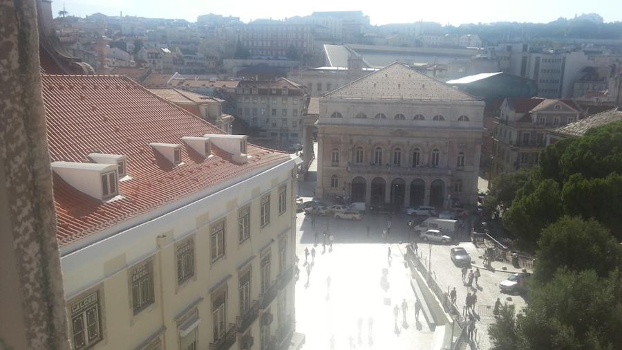 My apartment has a nice Baixa view...