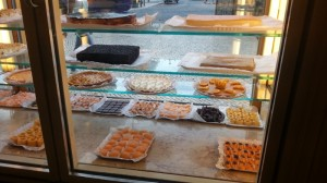 ...with a lovely array of sweets...