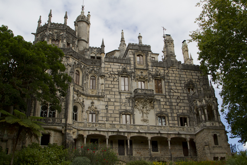The incredible main house of Quinta da Regaleira, covered in symbolism and myth...