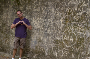 Here I sit broken hearted in a forgotten corner of the garden of Quinta da Regaleira...
