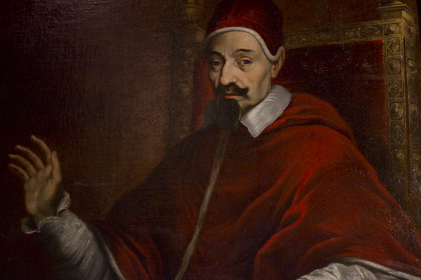 Inquisitor Fabio Chigi, who later went on to become Pope Alexander VII...