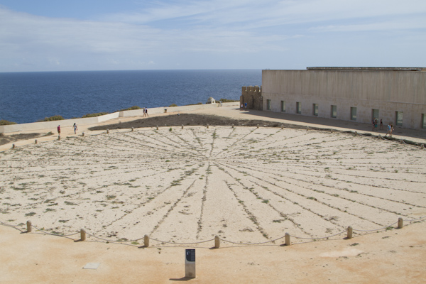 Is it an enormous mariner's wind compass? A sun dial? No one seems to be entirely sure...
