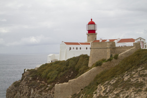 The lighthouse is one of Europe's most powerful, visible 60km away...