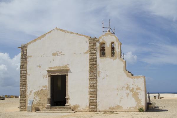 The restored church of Nossa Senhora da Graça inside the fort dates from 1579.