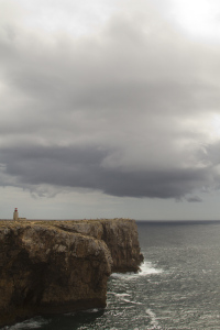 The fort is great place to watch storm clouds roll in off the open Atlantic...