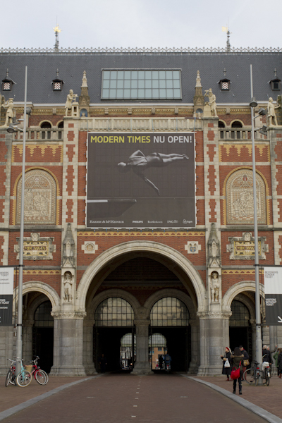A cool photographic exhibit at the Rijksmuseum...