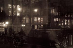 It's raining in Amsterdam...