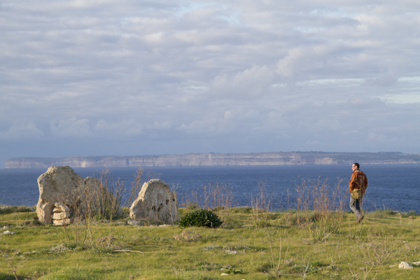 Two upright megaliths mark the site of what may once have been a sanctuary of Hercules during Punic and Roman times...