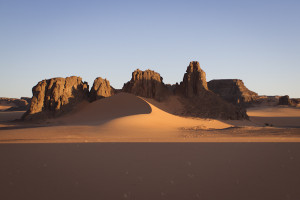 We spent a couple more days skirting the Tibesti foothills, camping on dunes and enjoying the cool nights...