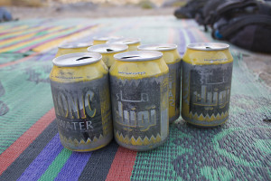 By the time they arrive from Libya, these cans look like they were worked over by the secret police...