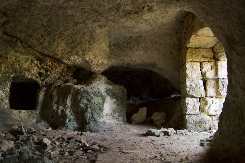 ...a set of catacombs from the Paleo-Christian period (ca. 200 AD)