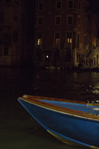I love Venice the most late at night...