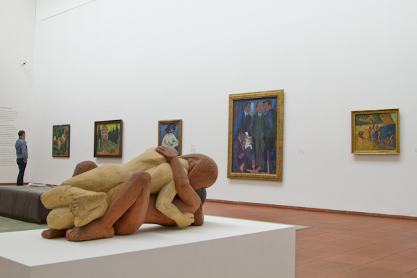 The Ludwig holds some of the most important works by the artists of Die Brücke...