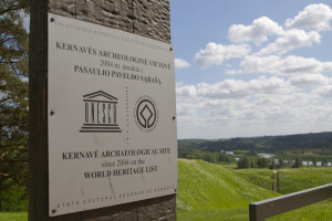 "UNESCO called Kernave an ""exceptional testimony to 10 millennia of human settlements in this region."""
