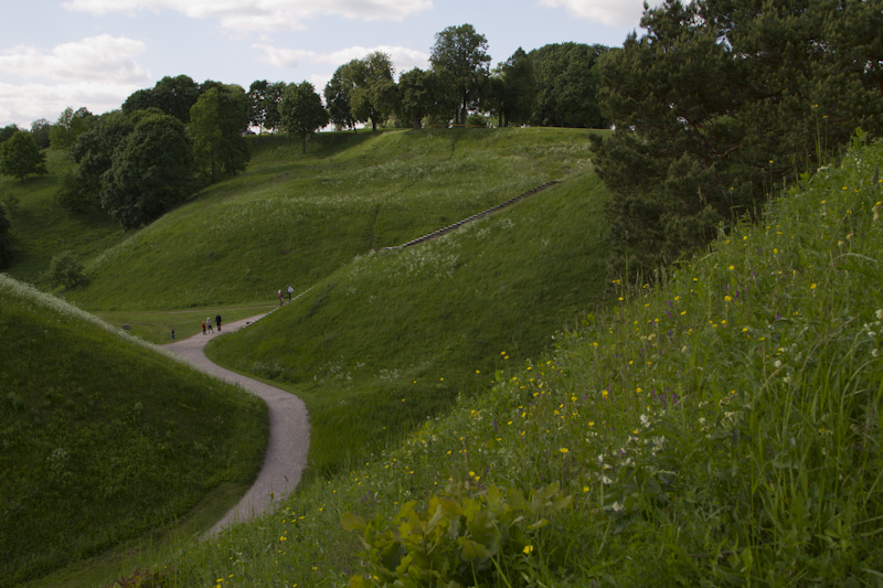 The cultivated lands and forests beyond these hill mounds reminded me of my hometown Ontario...