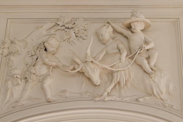 Detail of a panel on the Ballroom wall...