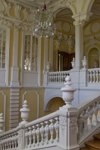 Staircase to the palace's state rooms...