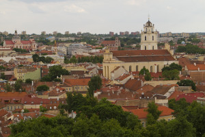 Views of the UNESCO-listed old town from up the hill...